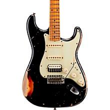 1962 Heavy Relic Stratocaster HSS Maple Fingerboard Masterbuilt by John Cruz Black over 3-Color Sunburst
