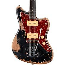 1962 Jazzmaster Heavy Relic Rosewood Fingerboard Electric Guitar Built by Vincent Van Trigt Black