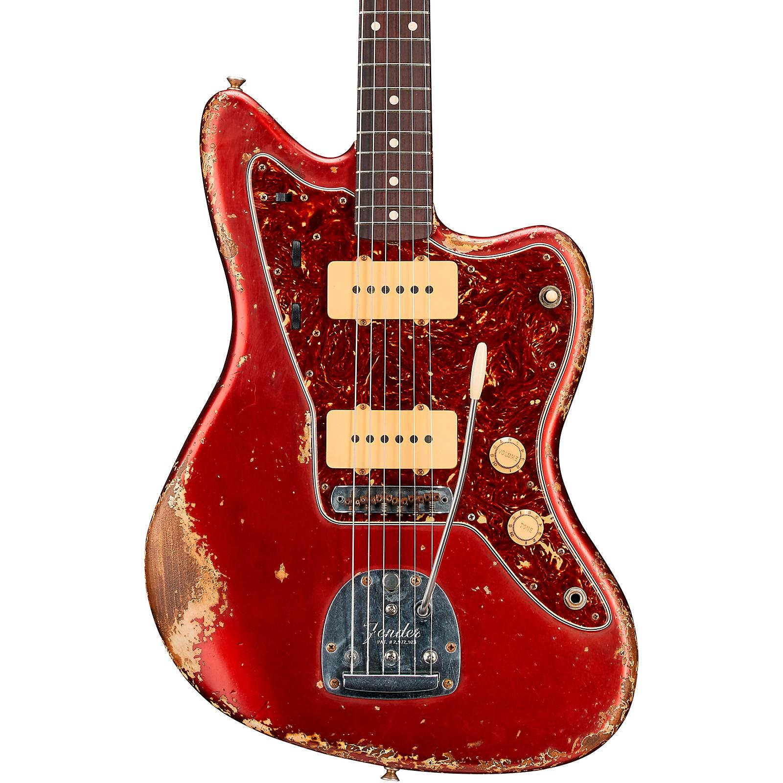Fender Custom Shop 1962 Jazzmaster Heavy Relic Rosewood Fingerboard Electric Guitar Built by Vincent Van Trigt