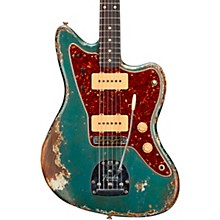 1962 Jazzmaster Heavy Relic Rosewood Fingerboard Electric Guitar Built by Vincent Van Trigt Lake Placid Blue