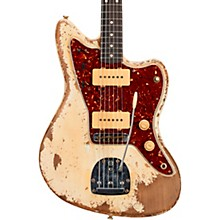 1962 Jazzmaster Heavy Relic Rosewood Fingerboard Electric Guitar Built by Vincent Van Trigt Olympic White