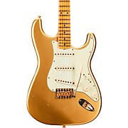 1962 Limited Edition Stratocaster Bone Tone Journeyman Relic Maple Fingerboard Aged Aztec Gold