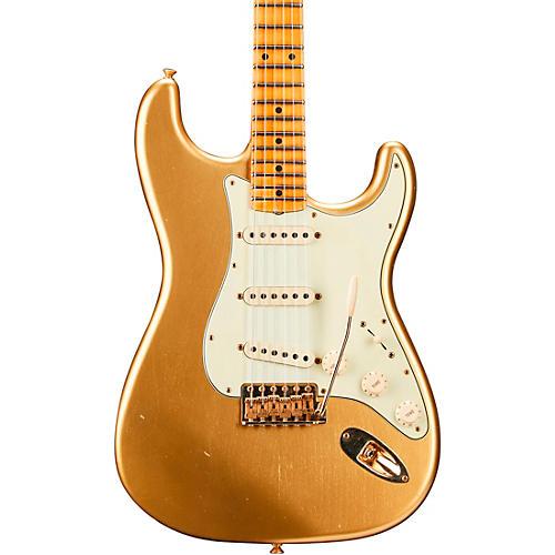 Fender Custom Shop 1962 Limited Edition Stratocaster Bone Tone Journeyman Relic Maple Fingerboard Aged Aztec Gold