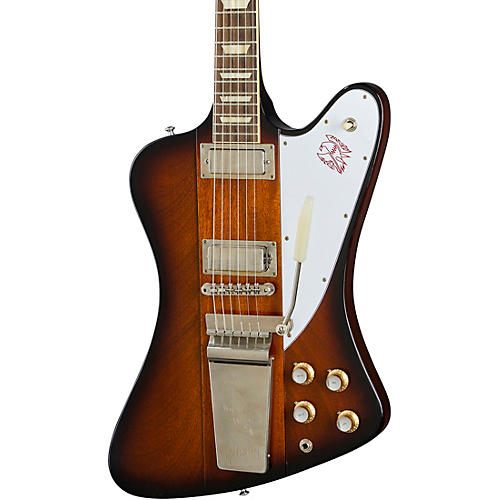 Gibson Custom 1963 Firebird V with Maestro Vibrola VOS Electric Guitar Vintage Sunburst