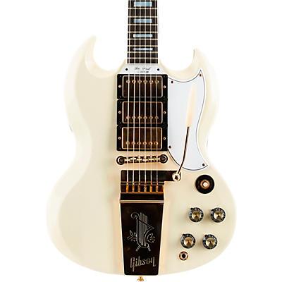 Gibson Custom 1963 Les Paul SG Custom Reissue 3-Pickup w/ Maestro VOS Electric Guitar