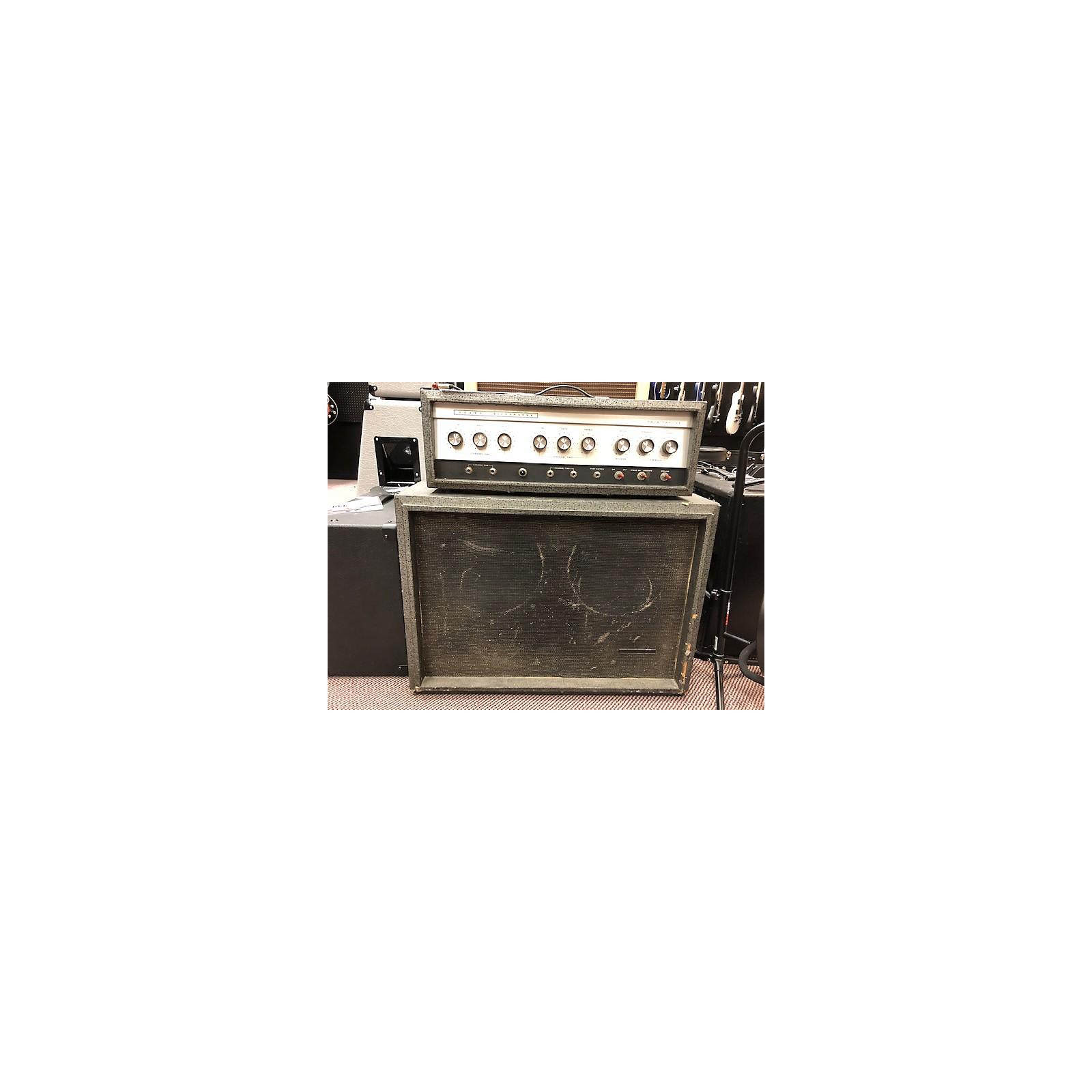 Silvertone 1963 Model 1484 Twin Twelve W/cab Tube Guitar Amp Head