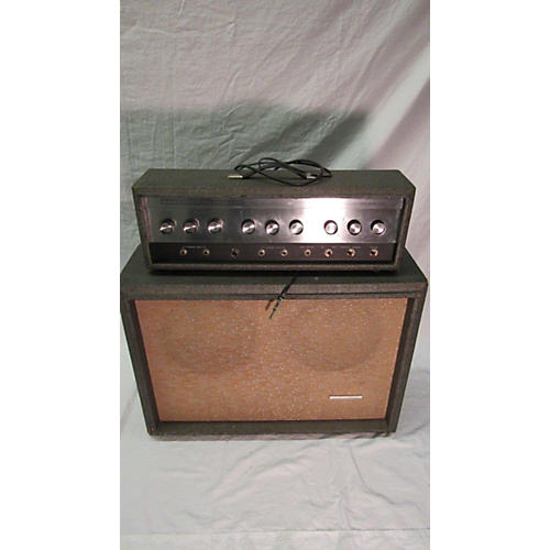 Silvertone 1964 1484 Amp With Cab Tube Guitar Amp Head