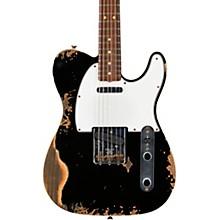 1964 Tele Custom Heavy Relic Electric Guitar Aged Black