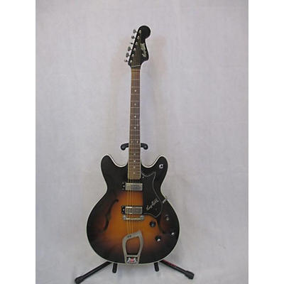Hagstrom 1965 Viking II-P P90S Hollow Body Electric Guitar