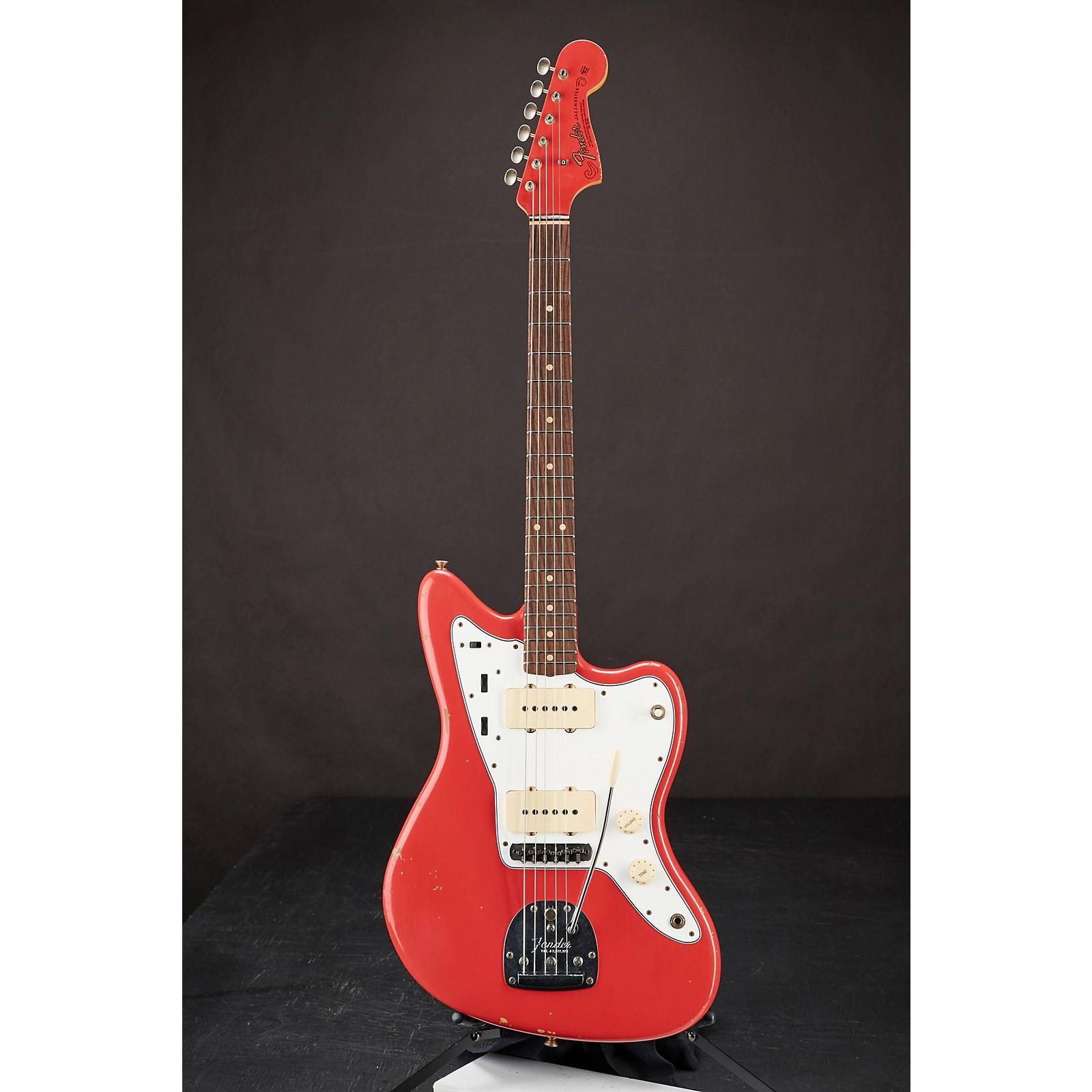 Fender Custom Shop 1966 Jazzmaster Relic Matching Headcap Electric Guitar