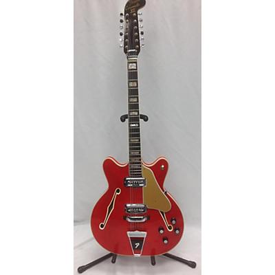 Fender 1967 Coronado 12 String Hollow Body Electric Guitar