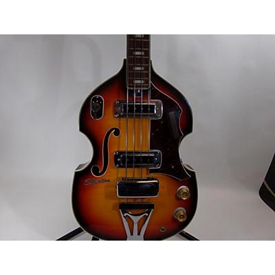 Silvertone 1968 1495 Electric Bass Guitar