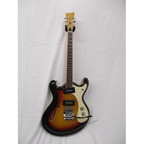 Mosrite 1968 Combo Hollow Body Electric Guitar Sunburst