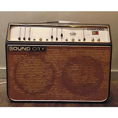 Sound City 1968 Concord Tube Guitar Combo Amp