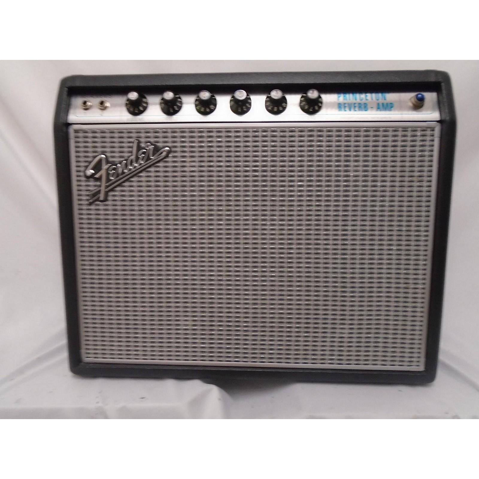 Fender 1968 Custom Princeton Reverb 12W 1x10 Tube Guitar Combo Amp