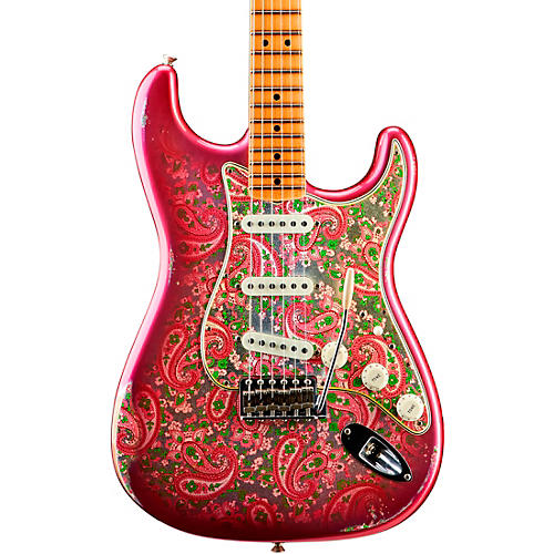 Fender Custom Shop 1968 Relic Stratocaster Limited-Edition Electric Guitar Pink Paisley