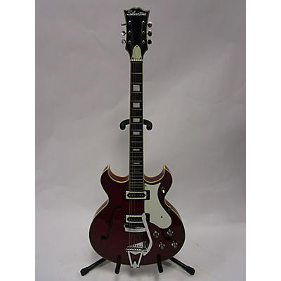 Silvertone 1969 319 Hollow Body Electric Guitar