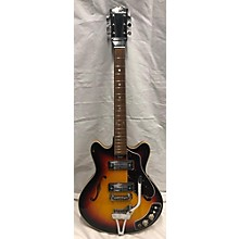 Silvertone 1970s 1456 Hollow Body Electric Guitar