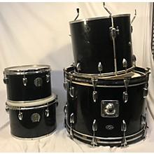 Slingerland 1970s 1970's Slingerland 4 Pc Kit Black Drum Kit