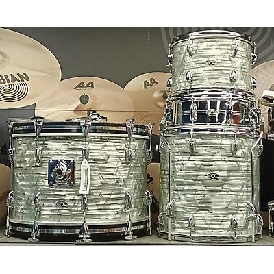 Slingerland 1970s 4pc Kit W/ Chrome Snare Drum Kit
