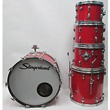 Slingerland 1970s 5 Piece Red Kit Drum Kit