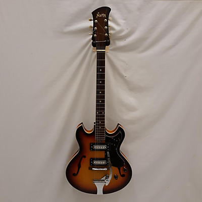 Norma 1970s Coily Hollow Body Electric Guitar