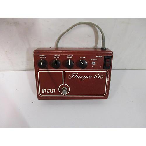 DOD 1970s Flanger 640 Effect Pedal