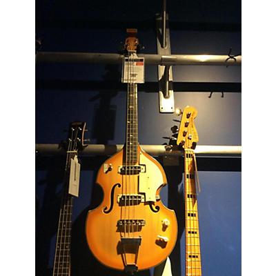Norma 1970s Hollow Body Violin Electric Bass Guitar