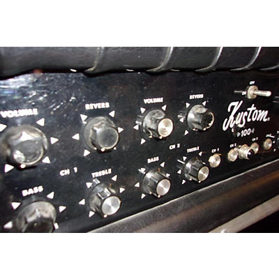 Kustom 1970s PA 100 Solid State Guitar Amp Head