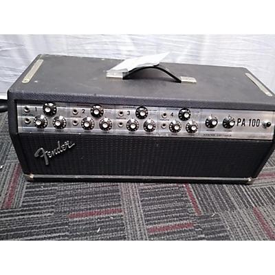 Fender 1970s PA100 Tube Guitar Amp Head