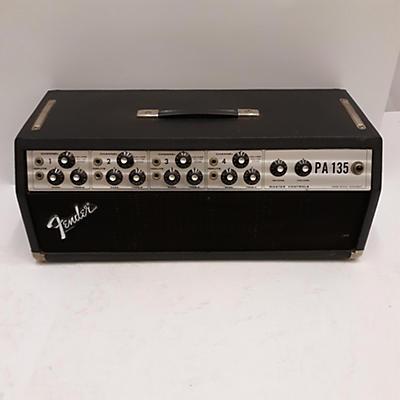 Fender 1970s PA135 Tube Guitar Amp Head