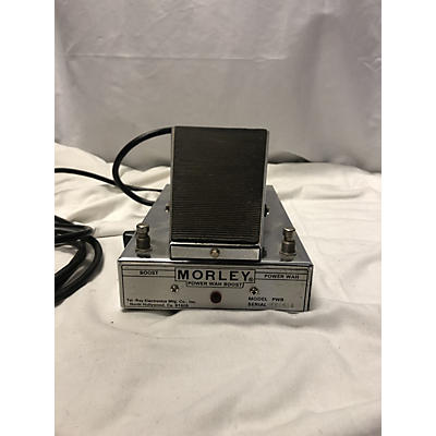 Morley 1970s POWER WAH BOOST Effect Pedal