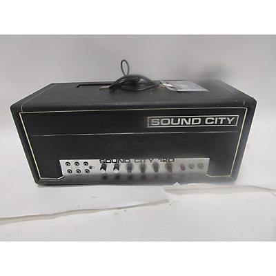 Sound City 1970s Sound City 120 Tube Guitar Amp Head
