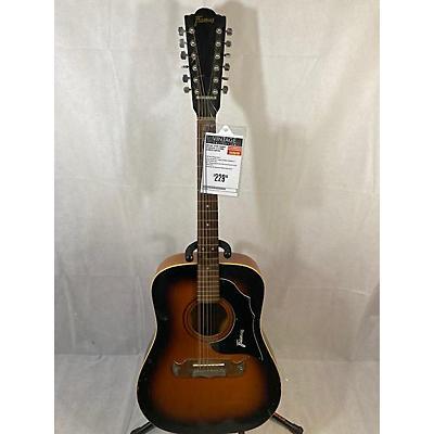 Framus 1970s Texan 6/29 12 String Acoustic Guitar