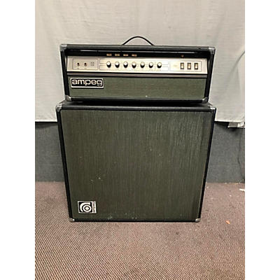 Ampeg 1970s V4-B Amp And Cab Guitar Combo Amp