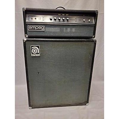 Ampeg 1970s V4B Head And Cab Tube Bass Amp Head