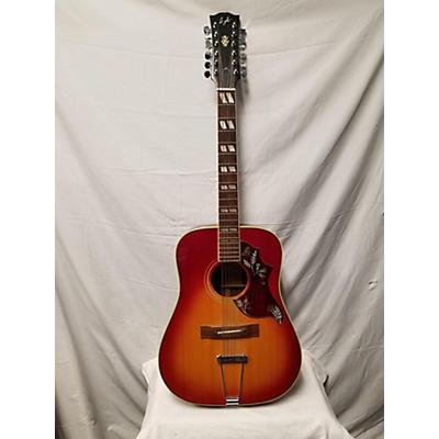 Lyle 1970s W-470-12 12 String Acoustic Guitar