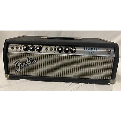 Fender 1972 Bassman Tube Guitar Amp Head