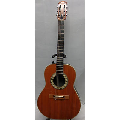 Ovation 1973 1624-4 Classical Acoustic Electric Guitar