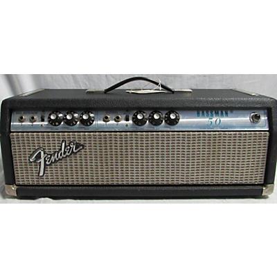 Fender 1973 Bassman 50 Tube Bass Amp Head