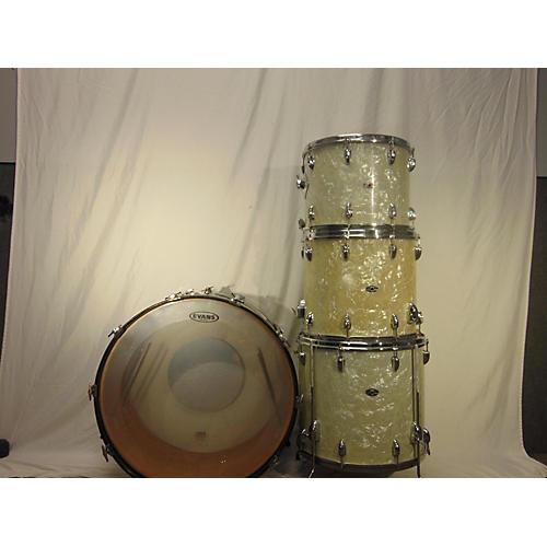 Slingerland 1973 Jazz Rock Drum Kit Pearl White