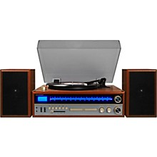 Open Box Crosley 1975T Shelf System with Turntable, CD and Radio