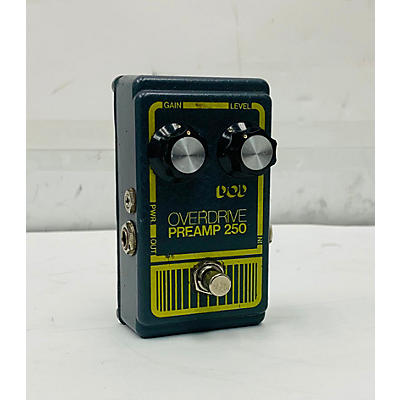 DOD 1980 1980 Overdrive Pream 250 Effect Pedal