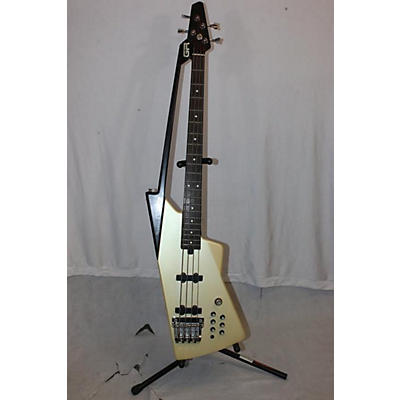 Roland 1980s 1980s Roland G77 Bass White W/ Controller Electric Bass Guitar