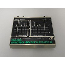 Electro-Harmonix 1980s Bass Micro Synth Bass Effect Pedal