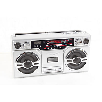 Victrola 1980's Bluetooth Boombox with Cassette Player and AM/FM Radio