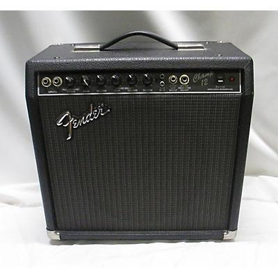 Fender 1980s Champion 12 Tube Guitar Combo Amp