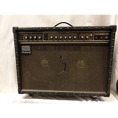 Roland 1980s JC120 Jazz Chorus 2x12 Guitar Combo Amp