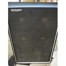 Acoustic 1980s MODEL 404 TRANSDUCER Bass Cabinet