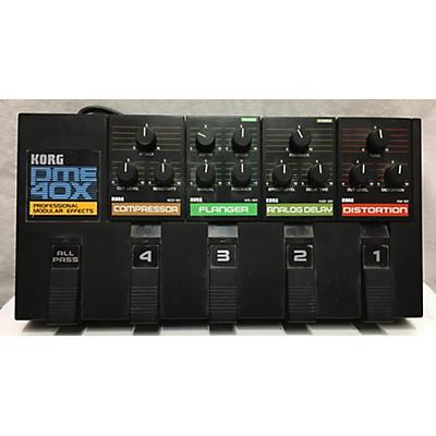 Korg 1980s PME 40x Effect Processor